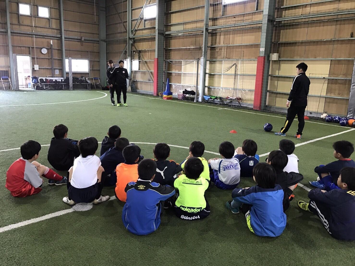 春休み短期サッカースクール3