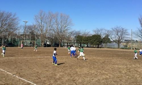2月11日(土)トレーニングマッチ4