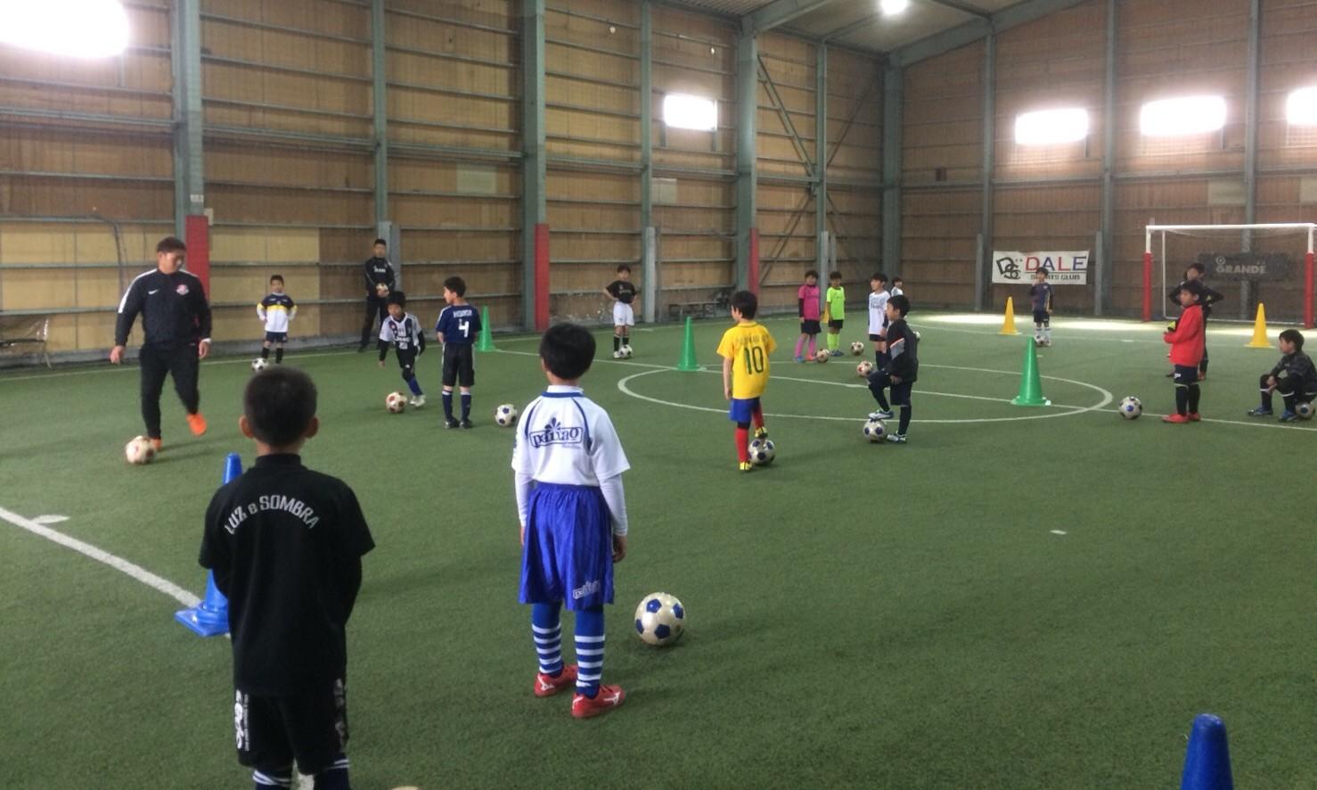 GW短期サッカースクール1