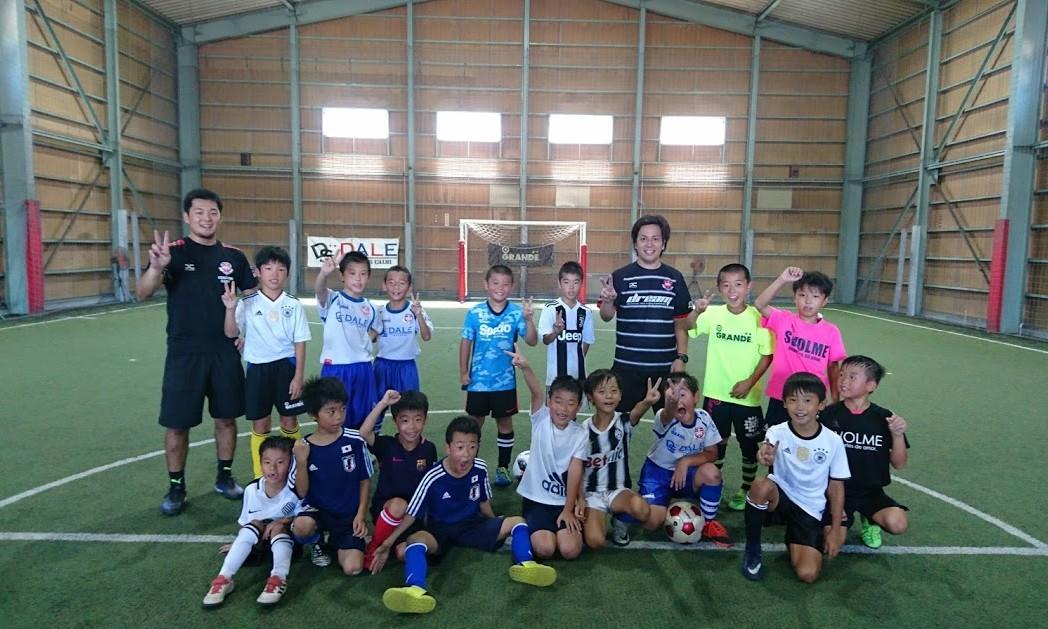 2018夏休み短期サッカースクール1
