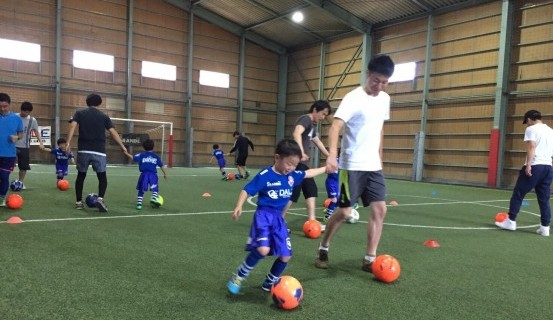 親子サッカー20170604U-6_